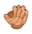 baseball related icon image vector image vector image