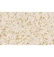 Basmati rice pattern vector image vector image