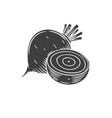beet glyph icon
