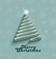 christmas tree background 1312 vector image vector image