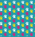 dog stuff seamless pattern vector image