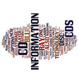 the new type of disc text background word cloud vector image vector image