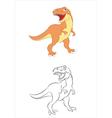 Tiranosaurus vector image vector image