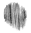 hand drawn texture hatching vector image