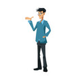 man people character human profession vector image