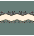Ornate vintage background vector image