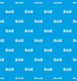record sound studio pattern seamless blue vector image