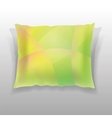 Colorful Pillow Isolated vector image