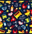 good night children bedroom dcoration pattern vector image