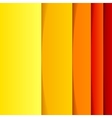 Abstract yellow orange and red rectangle shapes vector image