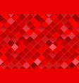 bright red geometric squares mosaic abstract vector image