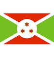 Burundi vector image vector image