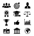 Business career vector image vector image