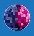 disco ball icon disco ball icon vector image vector image