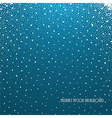 dots on blue vector image vector image
