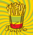fries vector image vector image