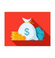 money stylish vector image