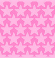 pink seamless background with stars vector image