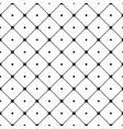 Polka dot seamless pattern Rhombus ornament 2 vector image vector image