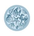 Sea fauna vector image vector image