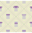 Seamless background with ancient columns vector image vector image