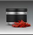 shisha tobacco jar vector image vector image