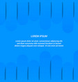 abstract blue trendy background vector image