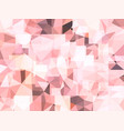 abstract pastel pink background of jewel vector image vector image