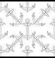 cartoon seamless pattern vector image