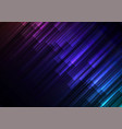 dark rainbow speed bar overlap in dark background vector image vector image