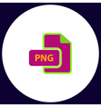 PNG computer symbol vector image vector image