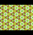 psychedelic seamless picture with contrasting vector image vector image
