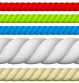 Rope vector image vector image