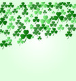 st patrick s day background vector image vector image