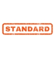 Standard Rubber Stamp vector image vector image