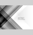 abstract clean gray lines background vector image vector image