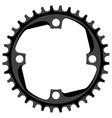 bicycle chainring 36 tooth isolated mtb vector image vector image