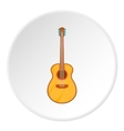 Classical guitar icon cartoon style vector image vector image
