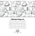 Oktoberfest seamless pattern vector image vector image
