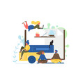relax concept flat style design vector image vector image