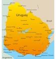 Uruguay vector image vector image