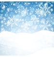 Winter background with snow Christmas snow banner