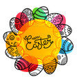 Christial holiday greeting card happy easter