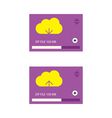 Cloud download and upload 27 vector image vector image