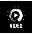 logo video vector image vector image