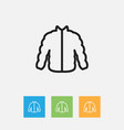 of shopping symbol on sweater vector image