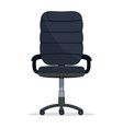 office chair director boss armchair manager seat vector image vector image