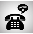 Phone design technology and antique concept vector image vector image