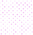Seamless pink Star Pattern vector image