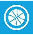 Basketball sign icon vector image vector image